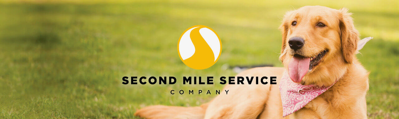 Second Mile Service dog banner